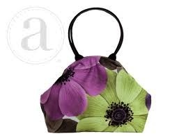 Accessories ATENTI BETTY BAG - PURPLE POPPIES