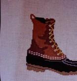Canvas BEAN BOOT  LMS61A