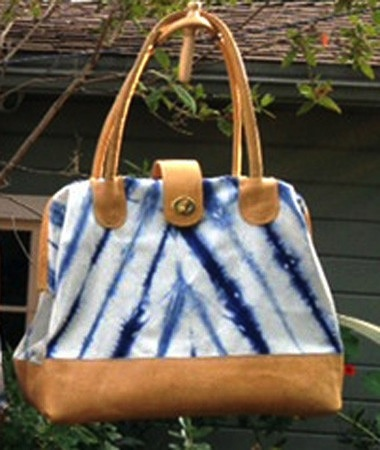 Accessories SAGE LUXURY BAG - INDIGO SHIBORI