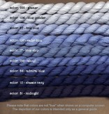 Fibers Silk and Ivory    ADMIRAL BLUE