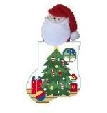 Canvas TREE SANTA STUFFER  CM552