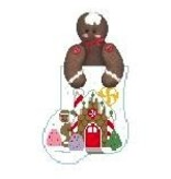 Canvas GINGERBREAD STUFFER  CM570