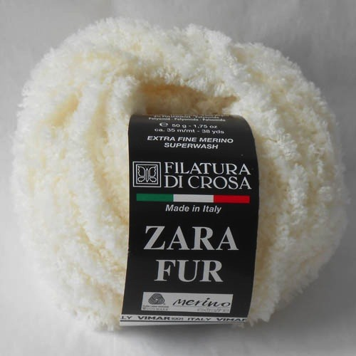 Yarn SALE  -  ZARA FUR<br /> REG $15.25