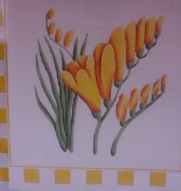 Canvas YELLOW FREESIA 260C