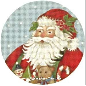 Canvas TOY SANTA ORNAMENT  MLT267
