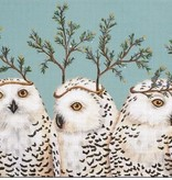 Canvas FESTIVE OWLS  VS100