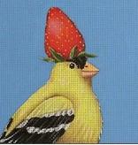 Canvas STRAWBERRY GOLDFINCH  VS147A