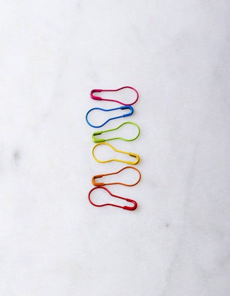 Accessories COLORED LOCKING STITCH MARKERS
