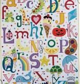 Canvas MULTI COLORED ALPHABET  3061