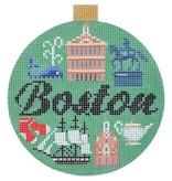 Canvas TRAVEL ROUND-  BOSTON<br />  KB1263