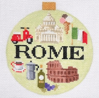Canvas TRAVEL ROUND-  ROME<br />  KB1257