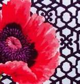 Canvas POPPY AND TRELLIS  KB383