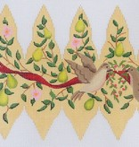 Canvas CHRISTMAS PEAR ORNAMENT DAY 2   XM95