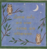 Canvas SOME OWLS ARE WISE…   SS30