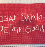 Canvas DEAR SANTA, DEFINE GOOD  S112