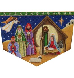 Canvas NATIVITY CUFF  1415