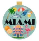 Canvas TRAVEL ROUND - MIAMI<br /> KB1261