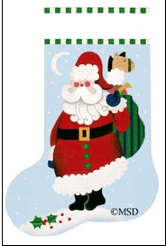 Canvas TOY CUTIE PIE SANTA  519D