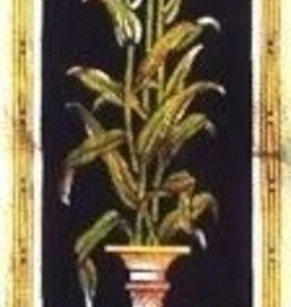 Canvas LILIES OF PADUA BELL PULL  QTBP2