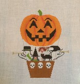 Canvas HALLOWEEN HOT AIR BALLOON  1121