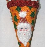 Canvas CHRISTMAS CANDY CONE  DC293