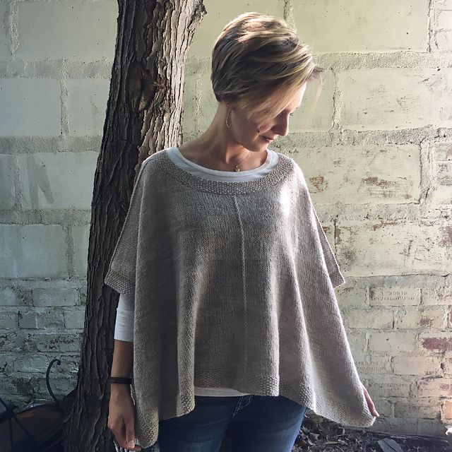 Yarn DISCOVERY PONCHO KIT