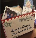 Canvas SMALL SANTA LETTER  RD031