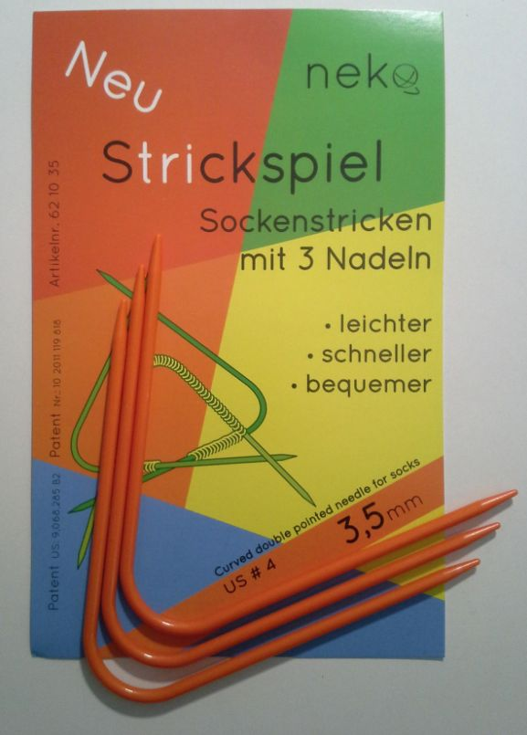 Needles NEKO CURVED DPN #4