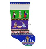 Canvas NATIVITY BOLD STRIPE  147