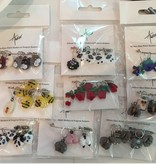 Accessories TUDOR GLASS STITCH MARKERS - SET OF 6