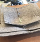 Accessories SET OF 3 TRAYS JULIAHILBRANDT INDUSTRIAL FELT