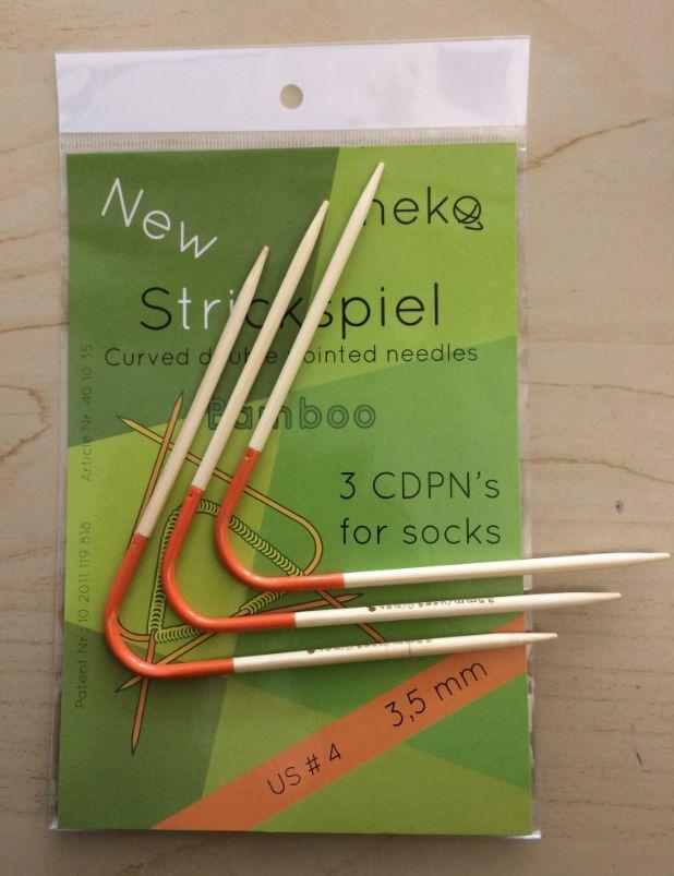 Needles NEKO CURVED BAMBOO DPN #1.5