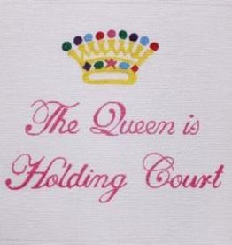 Canvas THE QUEEN IS HOLDING COURT  LD504