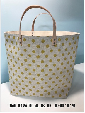 Accessories 65 SOUTH BAG - MUSTARD DOTS