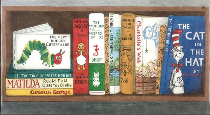Canvas CHILDRENS CLASSIC BOOKS  2892