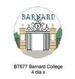 Canvas BARNARD ROUND ORNAMENT  BT677