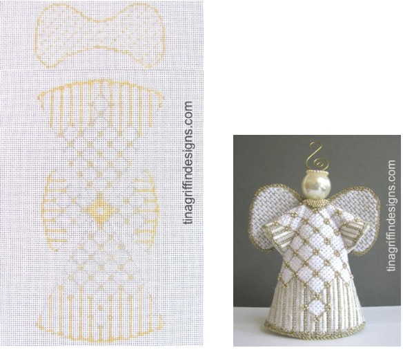 Canvas THE WHITE ANGEL  ANG005