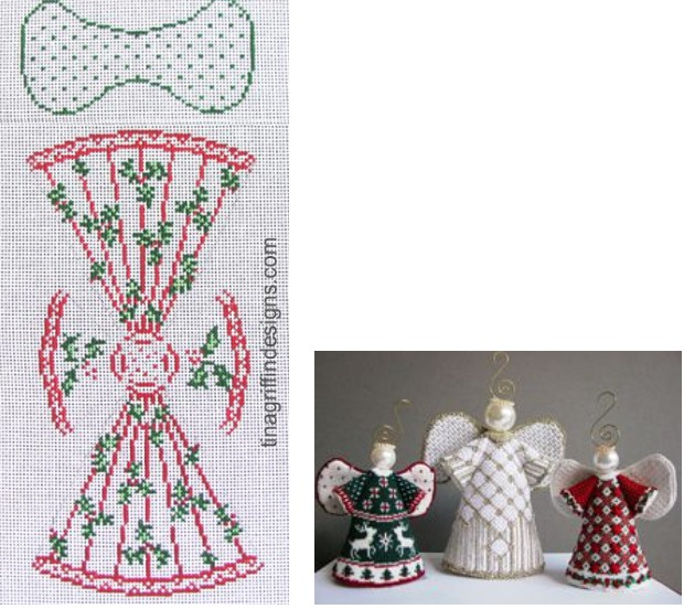 Canvas THE HOLLY ANGEL  ANG006