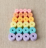 Accessories ASSORTED COLORFUL MARSHMELLOW STITCH STOPPERS