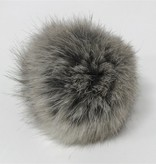 Accessories POMPOMS  5CM WITH SNAP