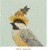 Canvas BUMBLE BEE DAISY  VS257B