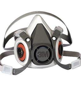 3M 3m Half Face Piece Respirator - Med