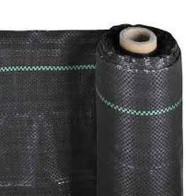 LANDMASTER WOVEN 4.8 OZ BLACK FABRIC - 250' ROLL