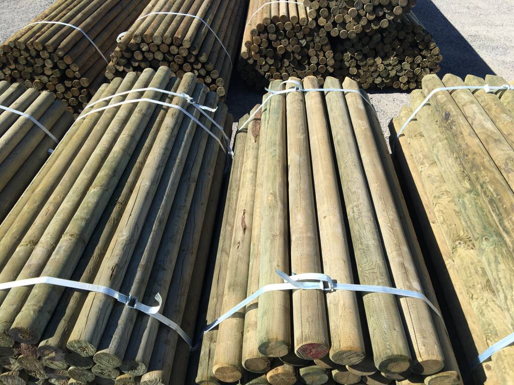 SWI ACQ TREATED FENCE POSTS - BLUNT