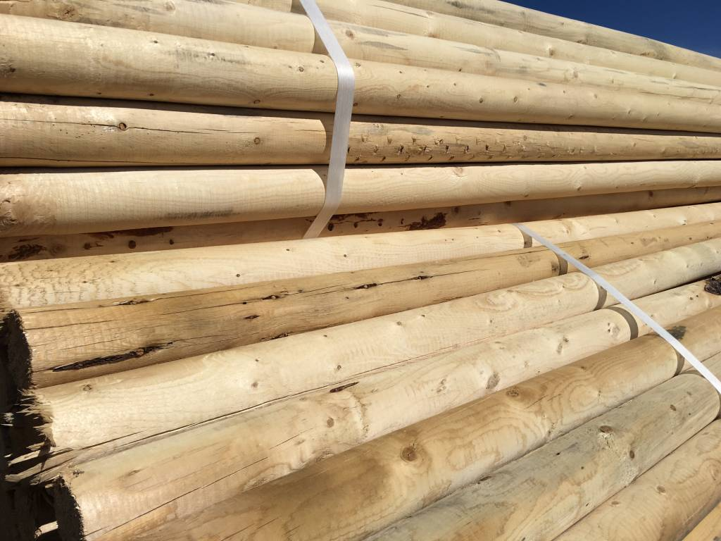 Swi Peeled Untreated Fence Rails Corral Poles Swi Fence