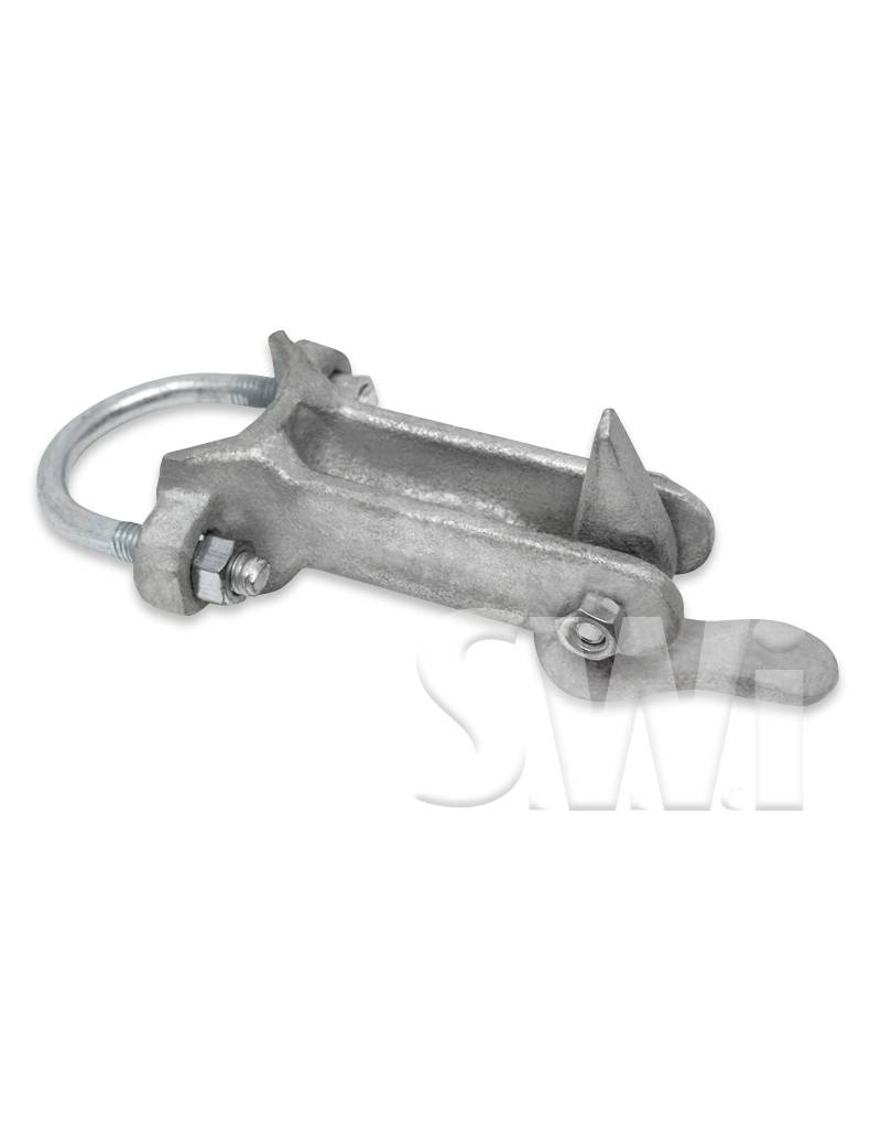 "MASTER HALCO 1 5/8"" MALLEABLE IRON GATE KEEPER"