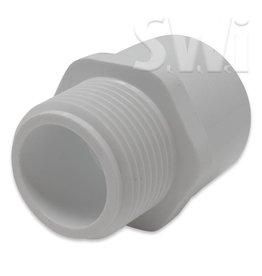 SPEARS / LASCO PVC MALE ADAPTER MPT X SOC (436 SERIES) SCH40