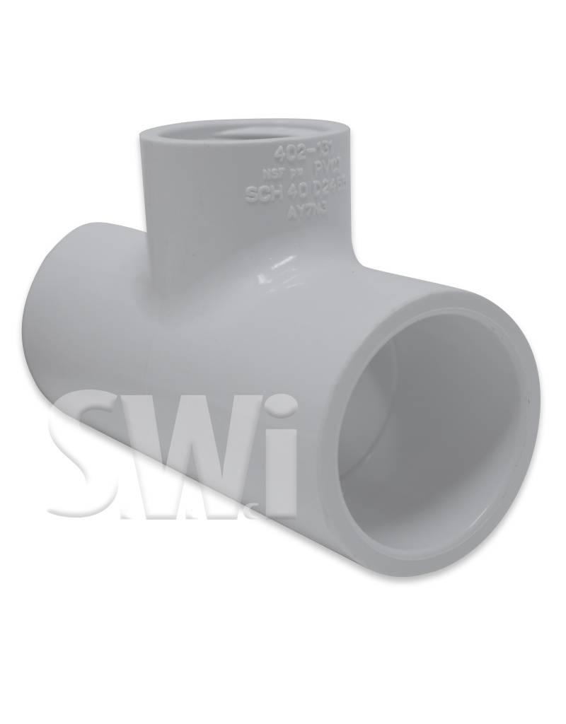 SPEARS / LASCO PVC REDUCING TEE SOC x FPT (402 SERIES)  SCH40