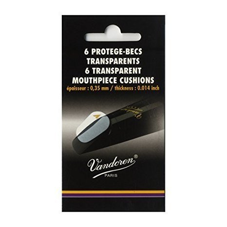 Vandoren Vandoren Mouthpiece Cushions 6-Pack - Clear