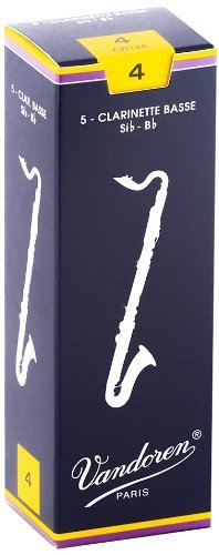 Vandoren Vandoren Traditional Bass Clarinet Reeds - Box of 5